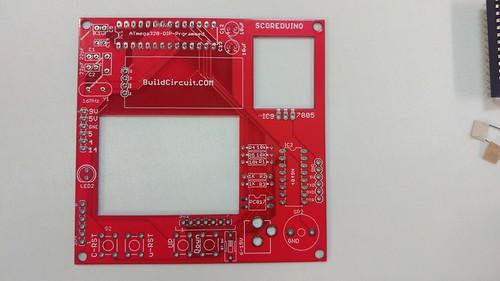 Arduino based digital Scoreboard  (213)