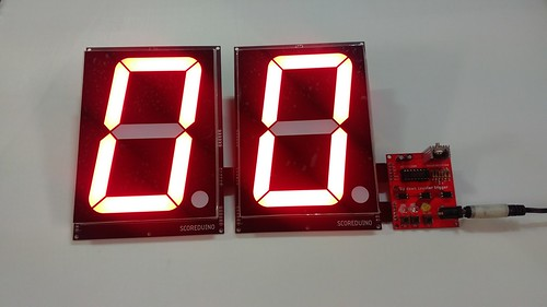 Arduino based digital Scoreboard  (199)