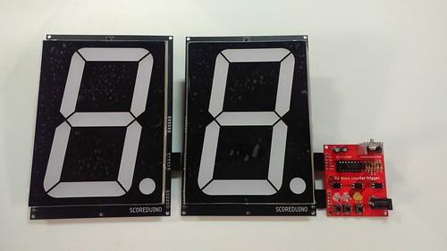 Arduino based digital Scoreboard  (197)