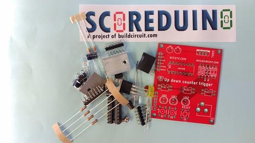 Arduino based digital Scoreboard  (193)