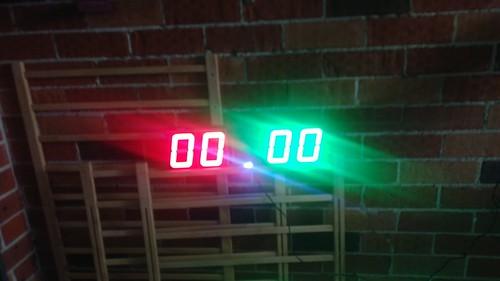 Arduino based digital Scoreboard  (165)