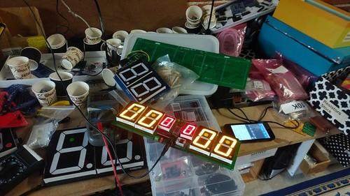 Arduino based digital Scoreboard  (147)