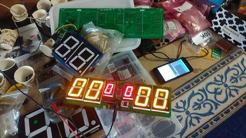 Arduino based digital Scoreboard  (146)
