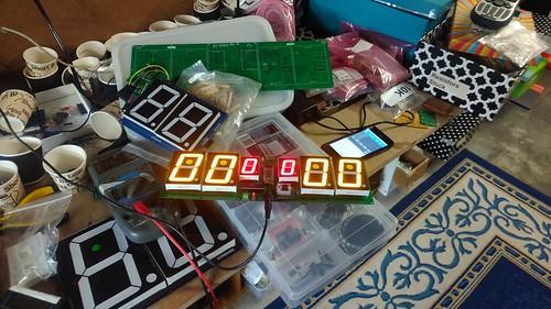 Arduino based digital Scoreboard  (145)