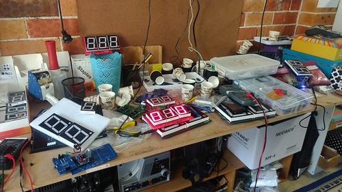 Arduino based digital Scoreboard  (139)