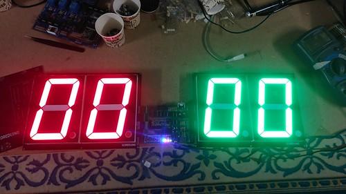 Arduino based digital Scoreboard  (134)