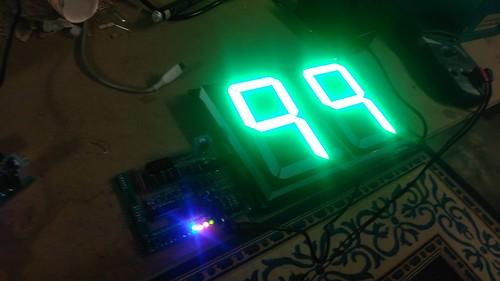 Arduino based digital Scoreboard  (131)