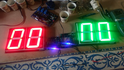 Arduino based digital Scoreboard  (124)