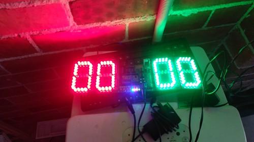 Arduino based digital Scoreboard  (110)