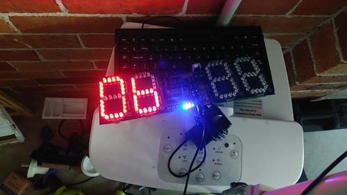 Arduino based digital Scoreboard  (108)