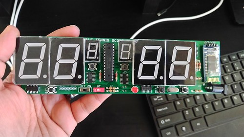 Arduino based digital Scoreboard  (105)