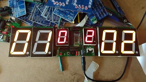 Arduino based digital Scoreboard  (98)