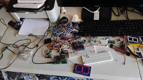 Arduino based digital Scoreboard  (37)