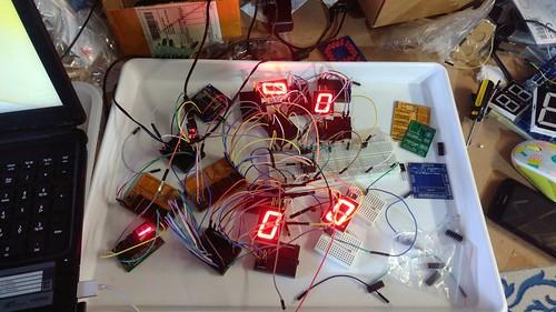 Arduino based digital Scoreboard  (14)