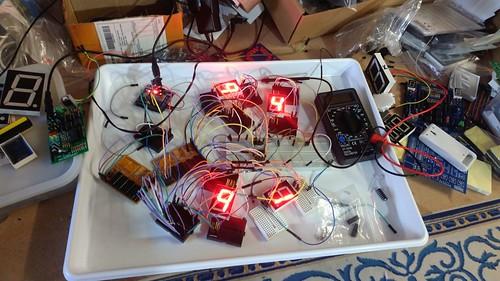 Arduino based digital Scoreboard  (11)