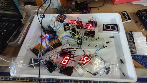 Arduino based digital Scoreboard  (9)