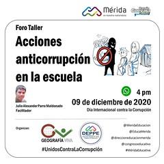 Acciones anticorrupción en la escuela