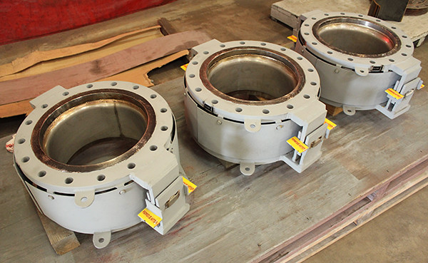 Hinged Expansion Joints Custom-Designed for a Process that Produces High-Density Polyethylene (HDPE)