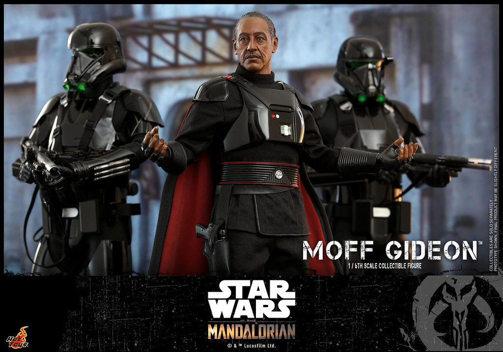 Hot Toys -TMS029-《曼達洛人》莫夫·吉迪恩 1/6比例人偶 揮舞「暗劍」的反派終於降臨!