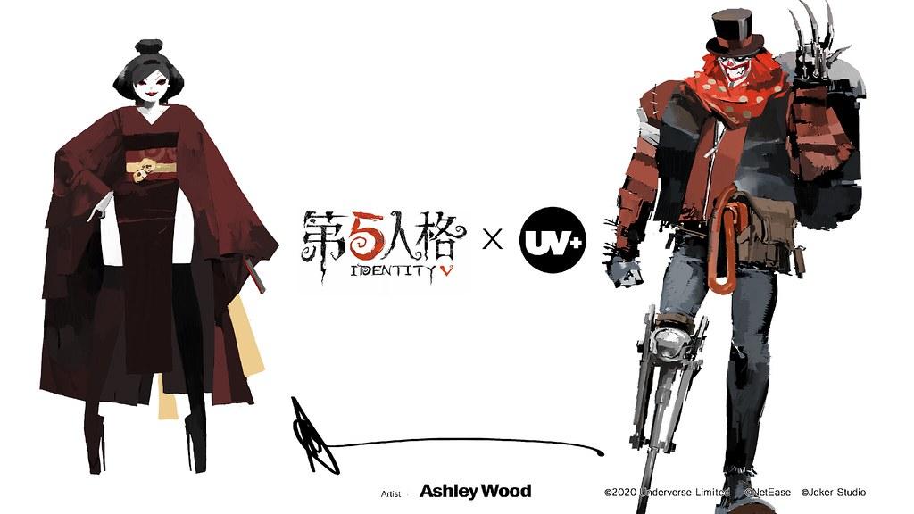 遊戲角色藝術靈魂再昇華,第五人格 X UNDERVERSE 聯名系列1/6收藏級人偶預購啟動!