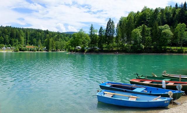 Walchensee - Boats
