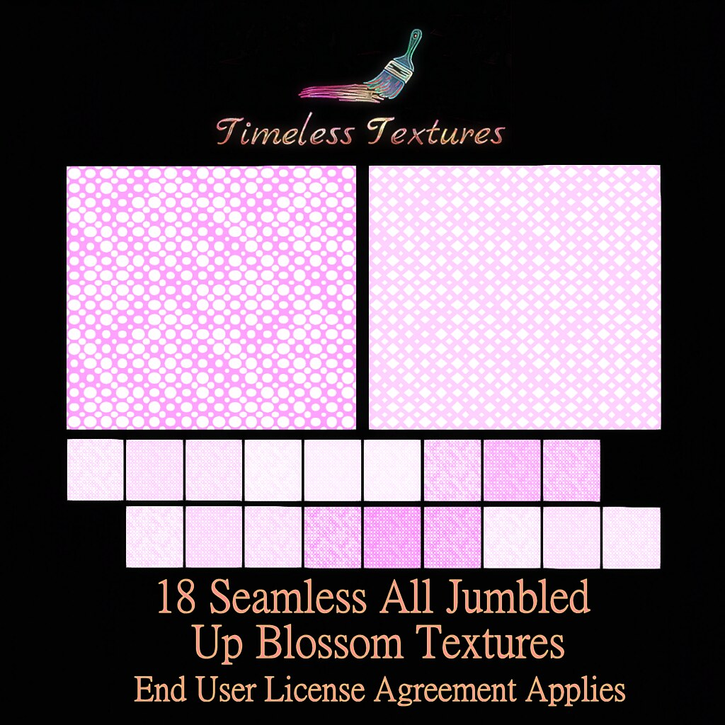 2020 Advent Gift Dec 16th – 18 Seamless All Jumbled Up Blossom Timeless Textures