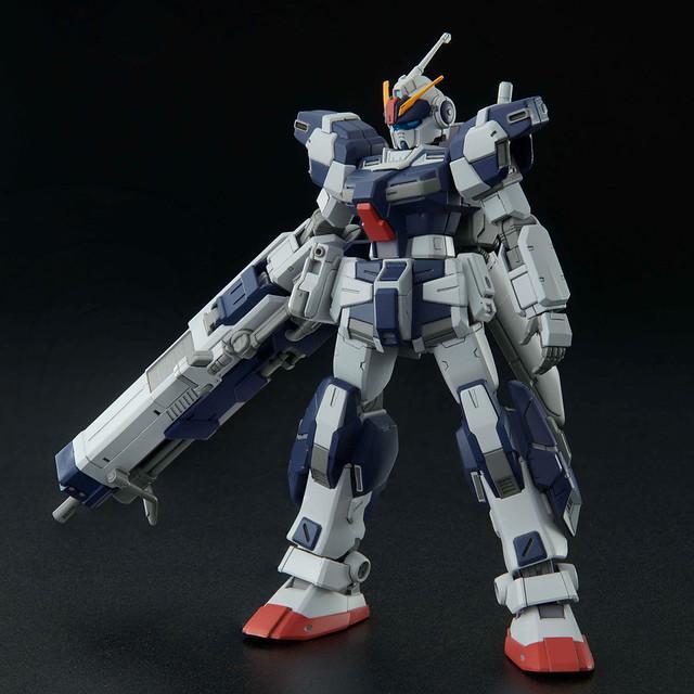 HG 1/144《機動戰士鋼彈》蒼白騎士・騎兵型 計畫集大成機體 HG 化!