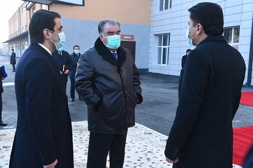 Ба кор даровардани ҶДММ «Комбинати орди Душанбе»  16.12.2020