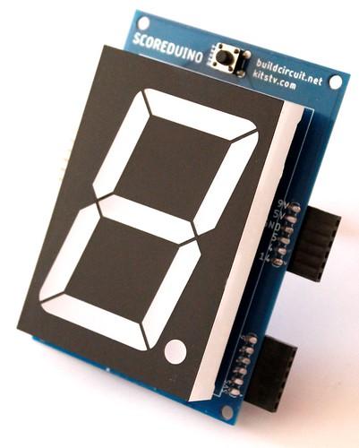 2.3 inch seven segment display driver (5)