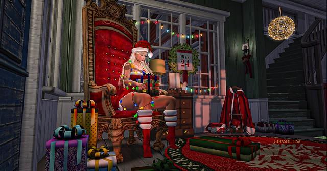 Mrs Santa Claus Regalos Luces Christmas 2020