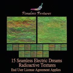 TT 15 Seamless Electric Dreams Radioactive Timeless Textures