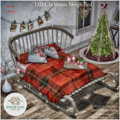 DD Christmas Sleigh Bed-Adult AD