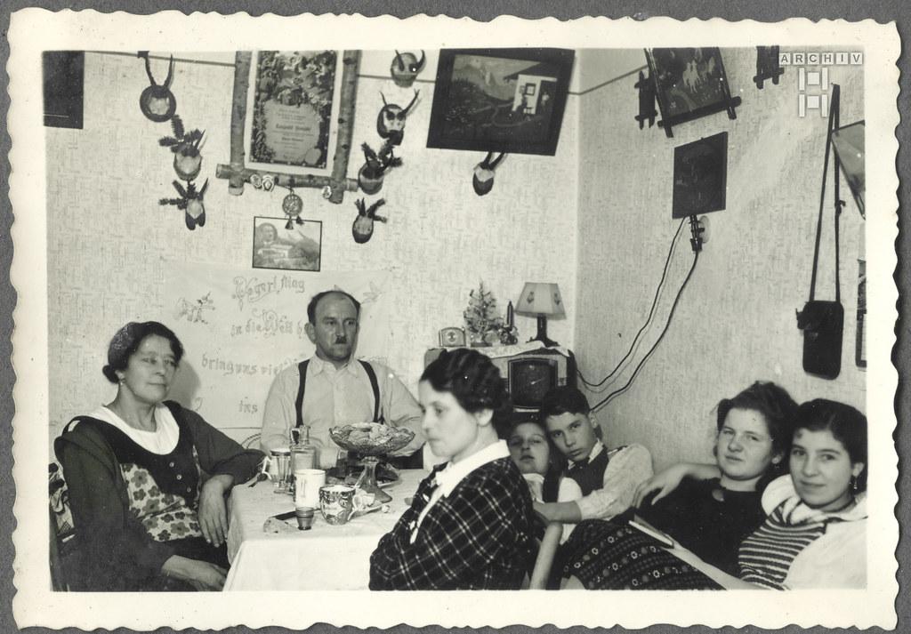 ArchivTappen2AAl2c21 Familientreff, Kriegsweihnachtszeit, 1940