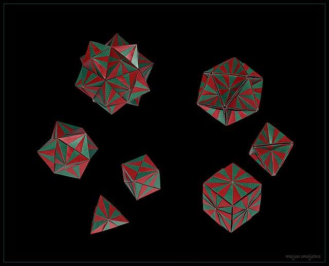 Origami 'Little Circus' (Miyuki Kawamura)
