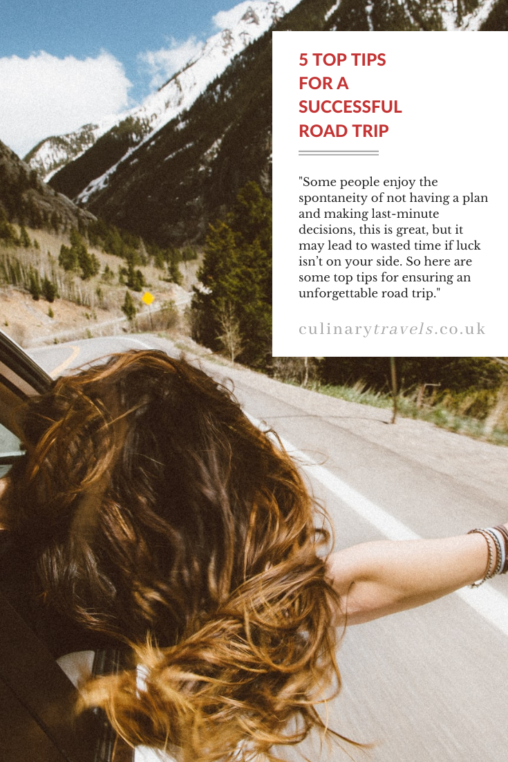 5 Top Tips for a Successful Road Trips