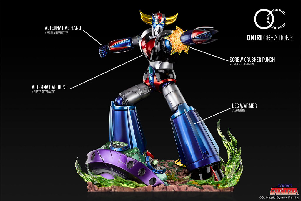 Oniri Creations《金剛戰神》克連泰沙 vs 飛碟獸 1/6比例頂級場景雕像 宇宙王者」再臨!
