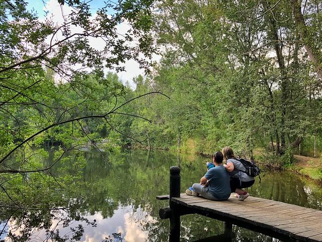 Con mi familia en el bosque finlandés (Rascafría)