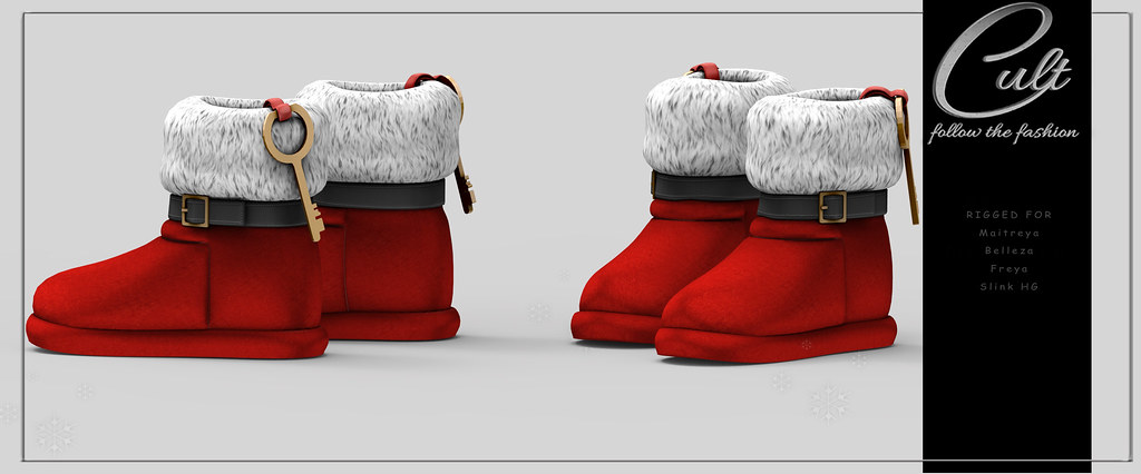 : CULT : Santa Slippers