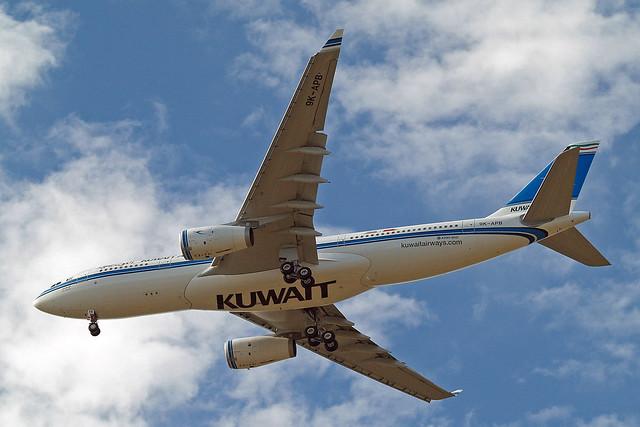 9K-APB   Airbus A330-243 [1643] (Kuwait Airways) Home~G 10/07/2015