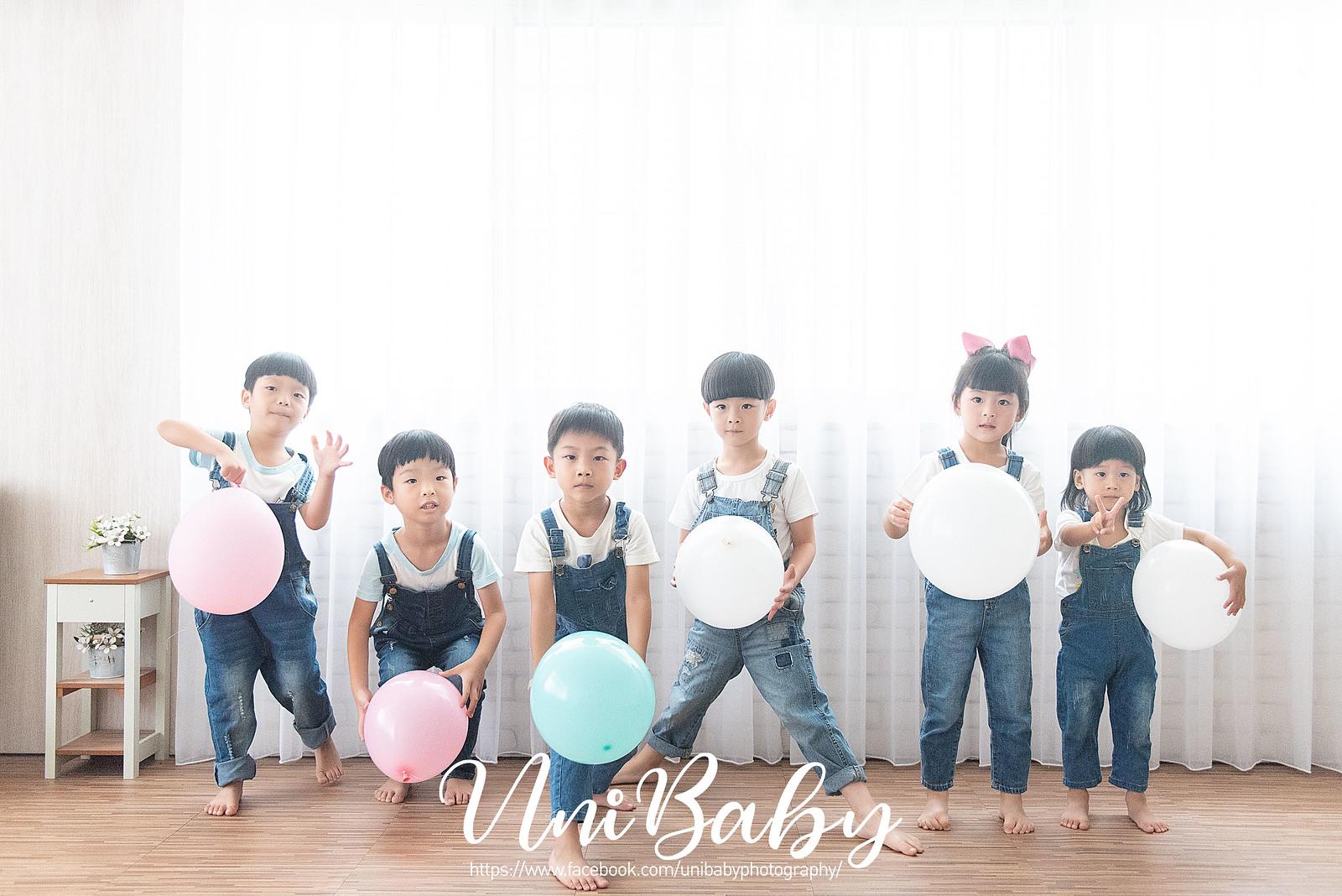 UniBaby 攝影棚 嘉嘉媽咪團拍親子寫真精修-6FB