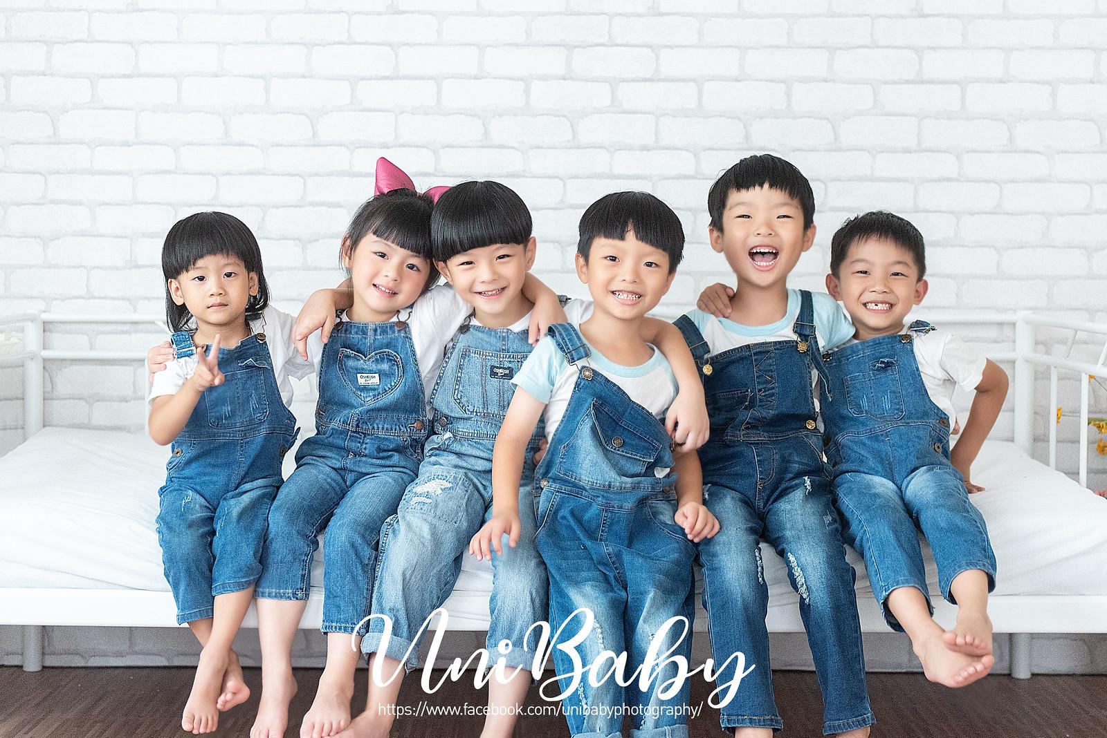 UniBaby 攝影棚 嘉嘉媽咪團拍親子寫真精修-2FB