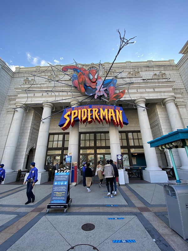 the amazing adventures of spider man the ride