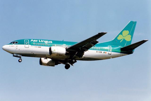 Aer Lingus | Boeing 737-500 | EI-CDB | London Heathrow