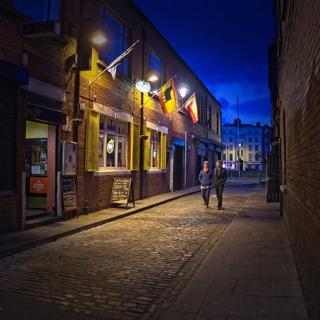 Dublin nightwalk