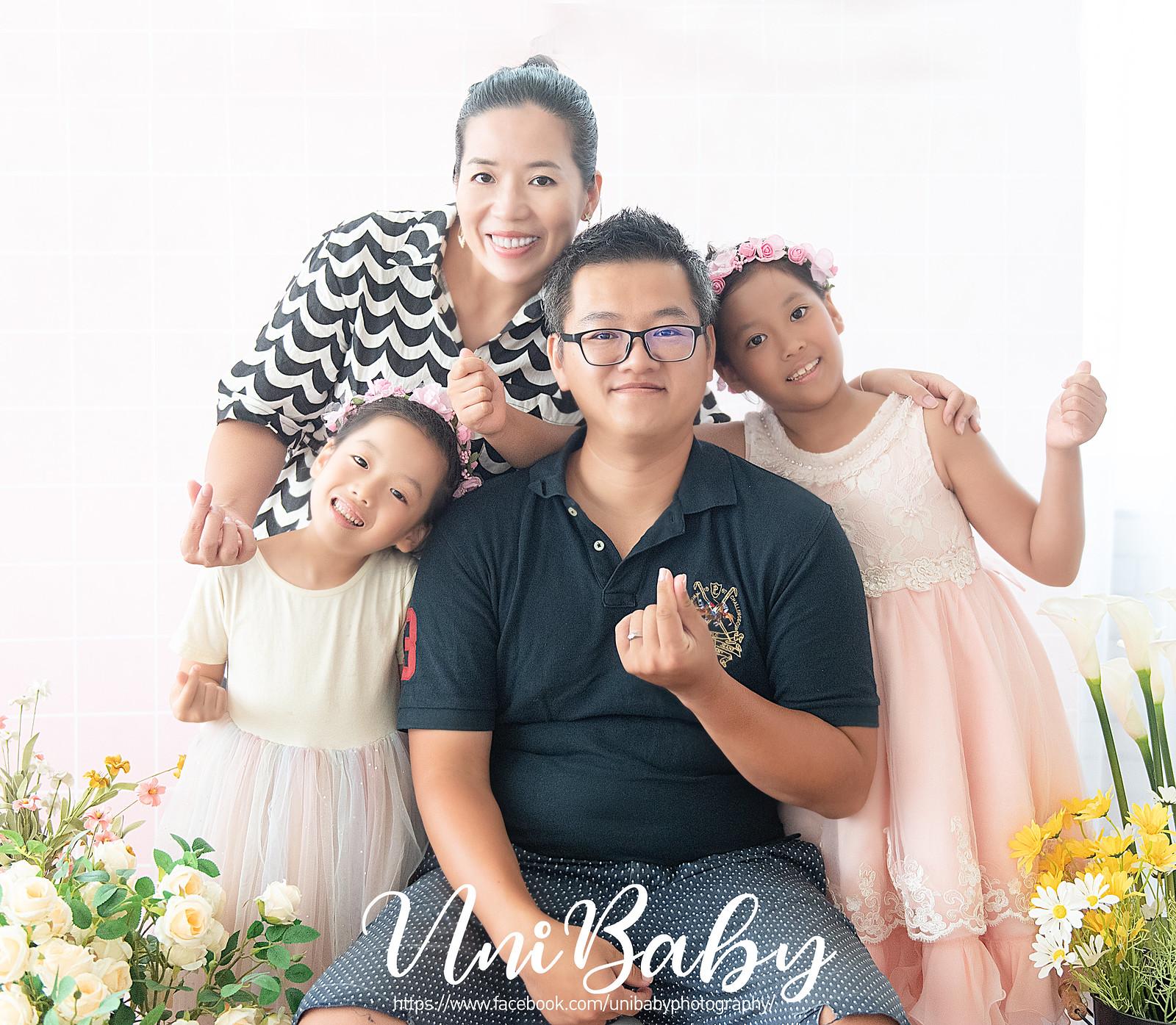 UniBaby 攝影棚 碧茹媽咪親子寫真精修-3