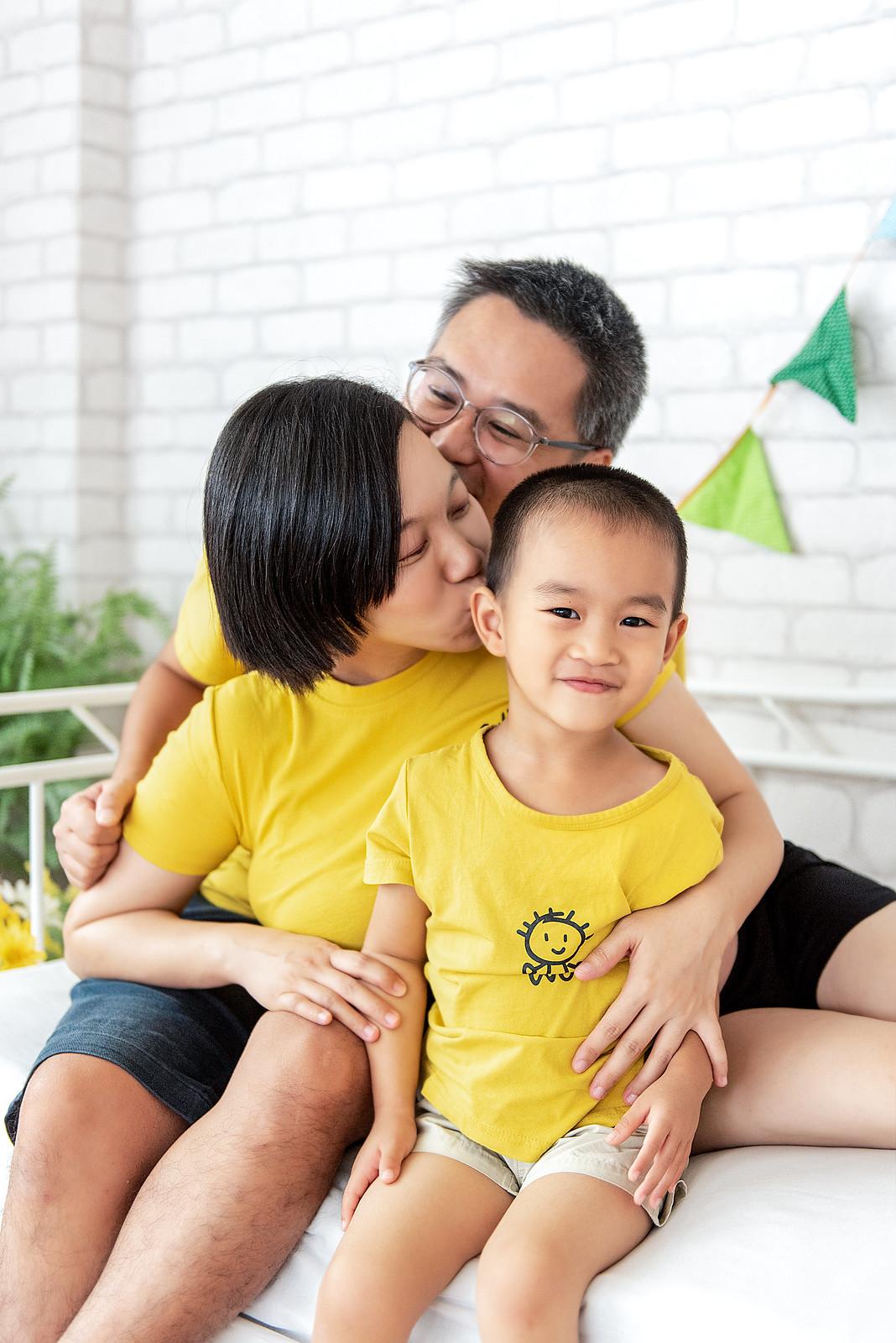 UniBaby 攝影棚 采諠媽咪親子寫真精修-6