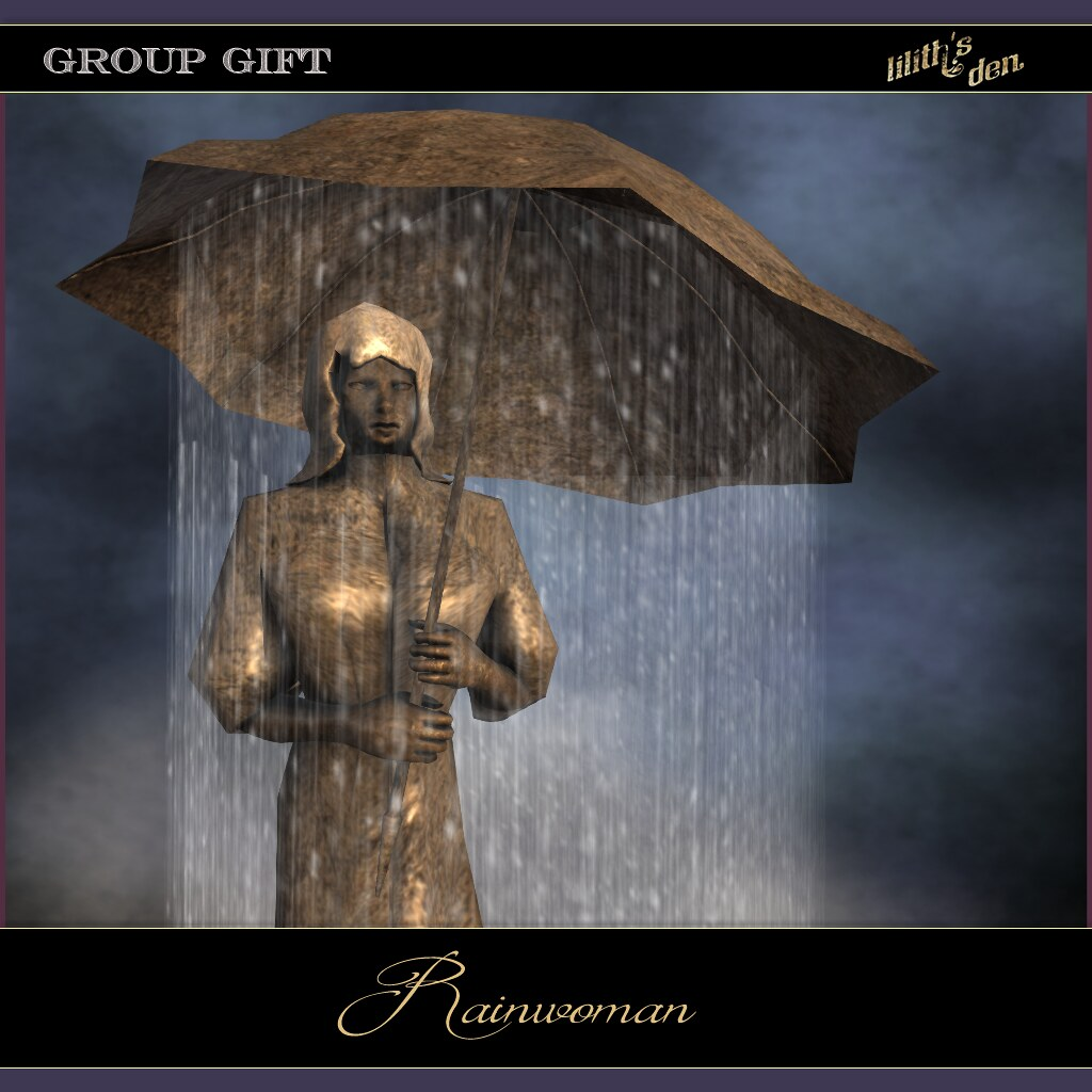 Lilith's Den – group gift Dec 2020 – rainwoman