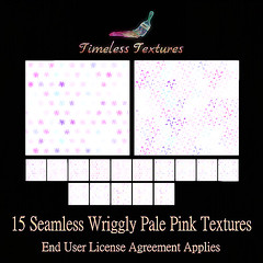 TT 15 Seamless Wriggly Pale Pink Timeless Textures