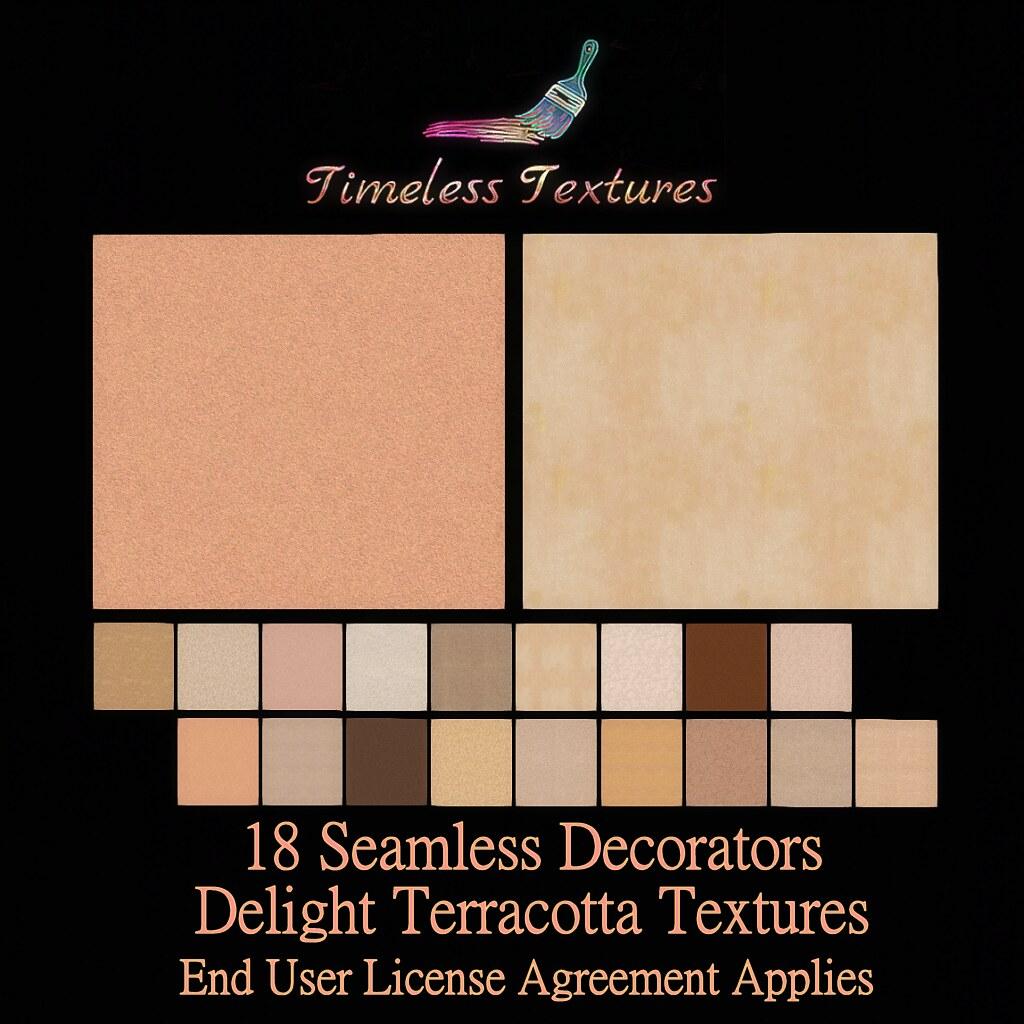 TT 18 Seamless Decorators Delight Terracotta Timeless Textures
