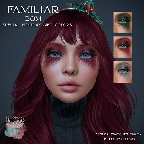 Voodoo - Familiar Holiday Gift
